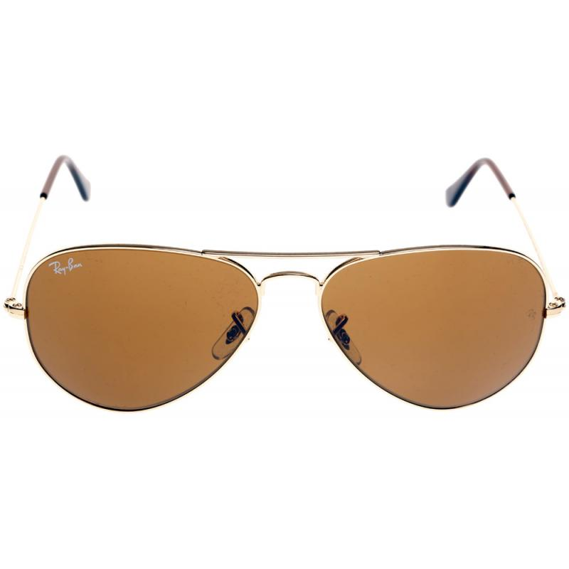 ray ban pilotenbrille orange